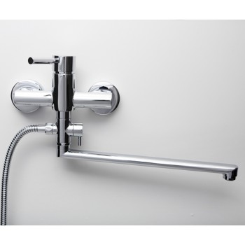 Смеситель для ванны с длинным изливом Main 4102L