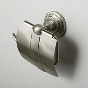 Держатель для туалетной бумаги с крышкой WasserKRAFT Ammer К-7025