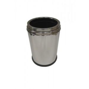 Корзина для мусора с декоративной окантовкой 90414 (12л)