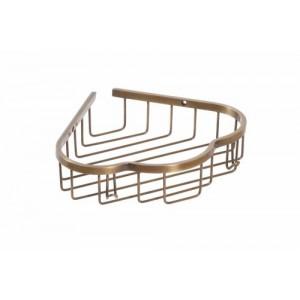 Полка для ванной угловая Cameya A1416-1 бронза