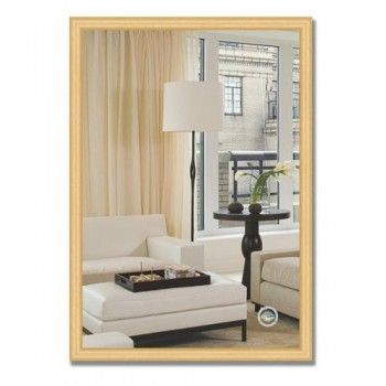 Зеркало в багетной раме BY 0618 сосна 47х67