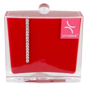 Контейнер для ватных палочек Roma D-15236 красный