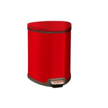 Ведро для мусора с педалью Grace Primanova D-15318 (5 л) красное
