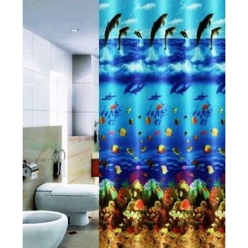 Шторка для ванной Dolphins DR-50019