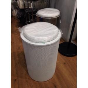 Корзина для белья с сиденьем белая Open E332 005