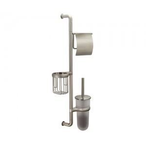 Настенная стойка для туалета WasserKRAFT K-1448 матовая