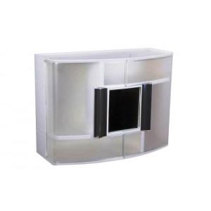 Шкафчик для ванной Primanova с зеркалом M-09316