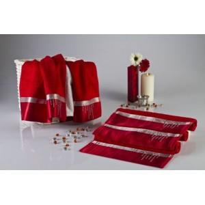 Полотенце Roma красное D-15239 (30х50 см)
