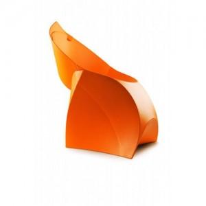 Стул Flux Chair оранжевый