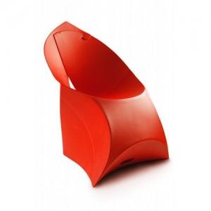 Стул Flux Chair красный