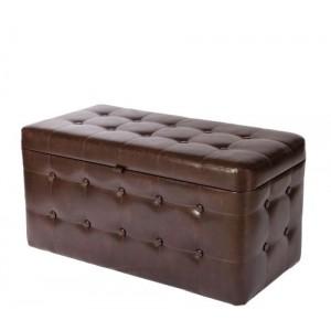 Банкетка СДМ коричневая 01К-БН Morgan Венге