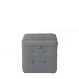 Пуфик с крышкой СДМ серый 01К Eko 725