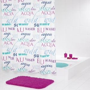 Штора для ванных комнат Woda RIDDER 33351