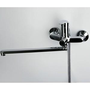 Смеситель для ванны с длинным поворотным изливом WasserKRAFT Isen 2602L