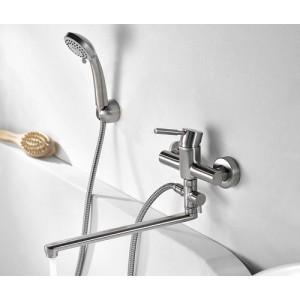 Смеситель для ванны с длинным изливом WasserKRAFT Wern 4202L