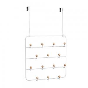 Органайзер для аксессуаров ESTIQUE с надверными креплениями белый Umbra 1004045-660