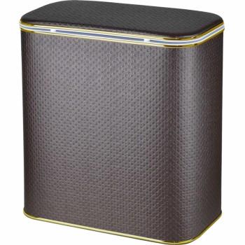 Корзина для белья Cameya Punto PCG-B большая Шоколад, кант золото