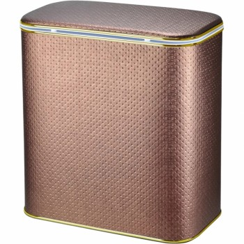 Корзина для белья Cameya Punto PNG-M-9 с микролифтом средняя Орех, кант золото