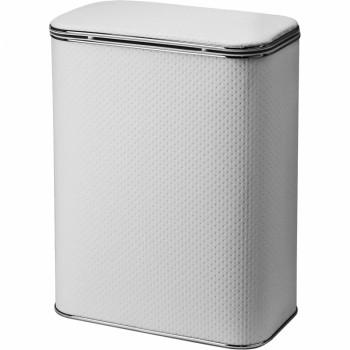Корзина для белья Cameya Punto PWH-M-9 с микролифтом средняя Белая, кант хром