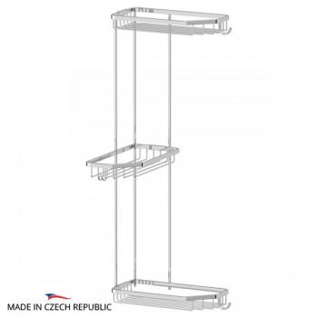 Полка-решетка развернутая тройная 28 см RYN014