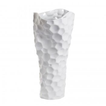 Ваза керамическая (матовый белый) B61-52