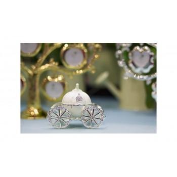 Шкатулка «Карета белая» LS0723B