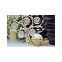 Шкатулка для украшений «Карета» розовая JB0723AL