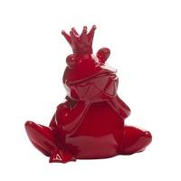 Статуэтка «Лягушка-Королева» (красная) D2020красная
