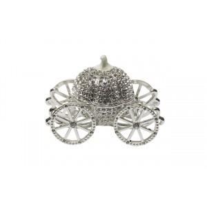 Шкатулка «Карета серебряная» JB1064
