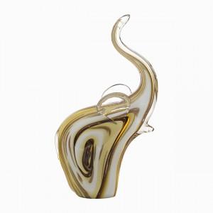Фигурка «Слоник» янтарная F5935