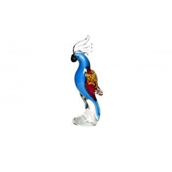 Фигурка стеклянная «Попугай» F4937
