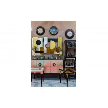 Часы настенные круглые с римским циферблатом L1054