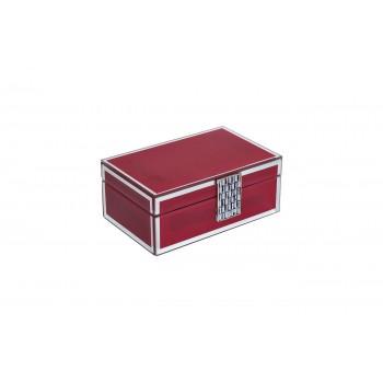 Шкатулка красная GD-7766