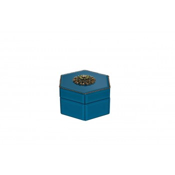 Шкатулка синяя GD-7775
