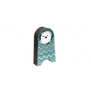 Часы настольные голубые 19-ОА-450-CK