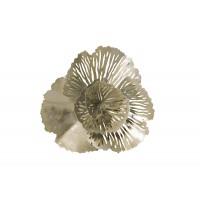 Декор настенный «Цветок» серебристый 37SM-1363-F1