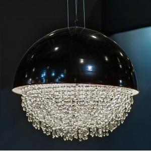 Светильник потолочный с черным плафоном K2DM600-5BL