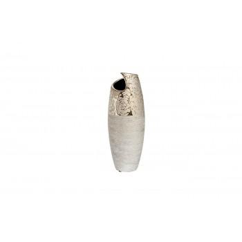 Ваза керамическая серебряная 18H3620S-12