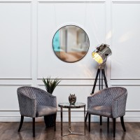 Зеркало со вставками (четырехцветное) 19-ОА-5903/4