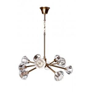 Светильник потолочный со стеклянными плафонами 20MD3471-10G
