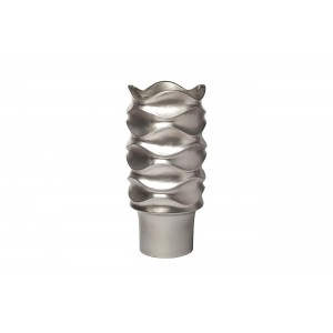 Кашпо напольное серебряное ZSC1043-27