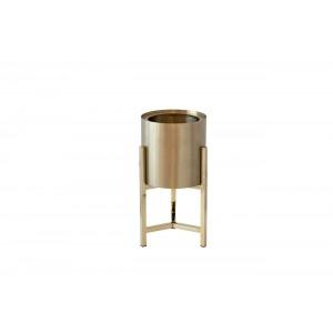 Кашпо металлическое на подставке (золото) 13RXFP3105M-GOLD