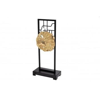 Статуэтка металлическая с золотым цветком 55RD2596L