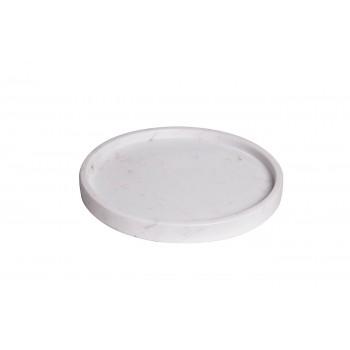 Поднос мраморный бело-серый 55RD3289