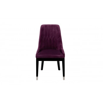 Стул велюровый фиолетовый 48MY-3526 VLT