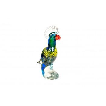Статуэтка «Попугай» разноцветная F7836