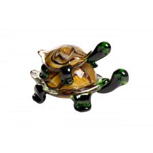 Статуэтка «Черепашки» коричнево-зеленая F7824