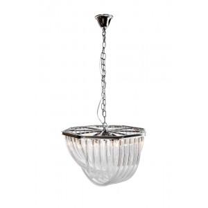 Светильник потолочный стеклянный (хром) K2KR0116P-5R/A