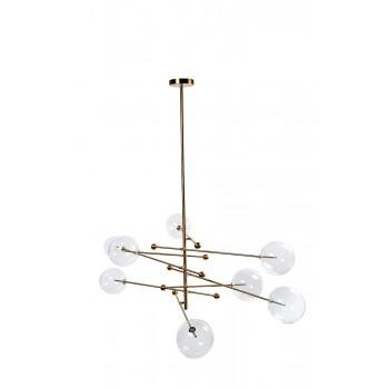Светильник потолочный «Стеклянные шары» K2KG0835P-8BR