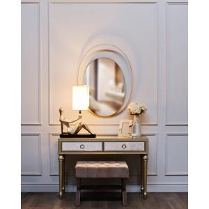 Зеркало с металлической объемной рамой 19-OA-6267